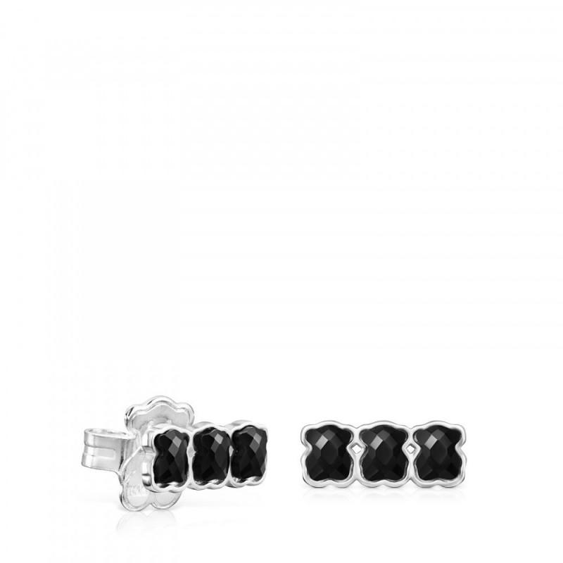 d19eff4c Mini Onix Ag Pendientes Presion 3 Osos Plata/Gema - 918453570