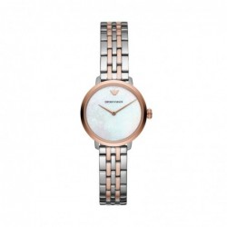 Modern Slim Reloj Acero Nacar