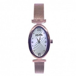 Lady Bloom Reloj Acero