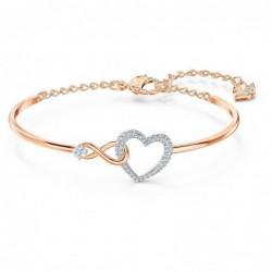Infinity Heart Brazalete