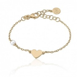 Pure Love Pulsera Corazon 4mm