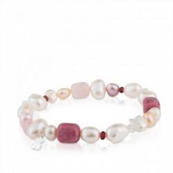 Pearls Pulsera Oso Perla