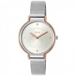 Real Bear Reloj Acero Malla