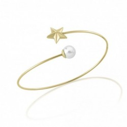 Rock Star Brazalete Acero 7mm