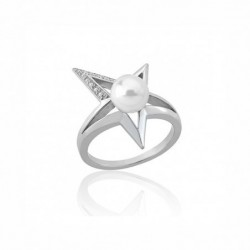 Rock Star Anillo Acero 10mm