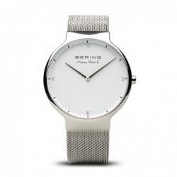 Max Rene Reloj Acero Malla...