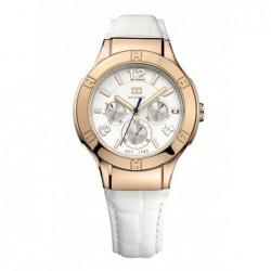 Ainsley Reloj Acero Piel